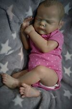 Reborn baby doll LE Genevieve *reborn by artist Kelly Campbell* Twin 1