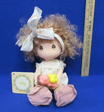"""Precious Moments Doll of the Month of July Julie Ice Cream Applause 11"""" Toy"""