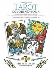 The Tarot Coloring Book  by Theresa Reed(Spiral-bound)