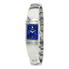 Seiko Blue Dial Stainless Steel Ladies Watch SUJG09