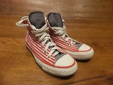 Converse CT All Star Stars Stripes Canvas Hi Top Trainers Size  UK 3 EUR 36