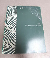 1995 Infiniti Technical Service Bulletins Repair Manual
