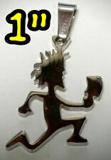 "HATCHETMAN 1"" MIRROR CHARM ABK 316L ICP INSANE CLOWN POSSE TWIZTID  RARE JERSEY"