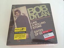 """Bob Dylan Limited Edition 7"""" Vinyl Like A Rolling Stone/Gates Of Eden & XL Tee"""