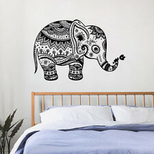 Ganesha Elephant Indian Pattern Wall Decal Wall Stickers Vinyl Removable Decal