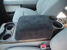 Fits Armrest Covers For Center Console (Center Console Cover) F1- Black