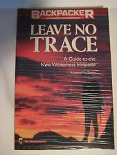 Original 1998 BOY SCOUTS of America Backpacker Wilderness Travel Leave No Trace