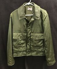 Vtg 50's Butwin Police Uniform Jacket~Med~Army Green