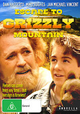 ESCAPE TO GRIZZLY MOUNTAIN (Dan Haggerty) -  DVD - UK Compatible - sealed
