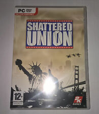 Shattered Union (PC DVD) Brand New & Sealed, Turned Based Strategy Game