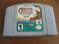Aidyn Chronicles: The First Mage (Nintendo 64, 2001) Grey cart!