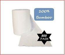 800 Bamboo Flushable Nappy Liners - Baby Wipes - Organic Biodegradable Insert