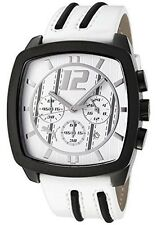 Puma Drift PU101411003  Watch Quartz Chronograph-PU Strap White Dial RRP £100