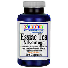 Essiac Tea Advantage 180 Capsules Vitamins Because