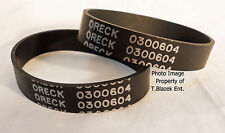 Oreck XL Belt 010-0604 Vacuum Cleaner 030-0604 Belts for upright 2 pack 0300604
