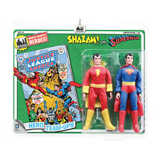 DC Comics Mego Style 8 Inch Retro Figure Two-Pack: Shazam & Superman