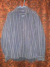 Red Level Nine,Boy's black striped, dressy button front,long sleeved shirt,sz XL