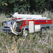 The Aviation Authority Fire Service Model Cars Sound & Light Toy Car Gift Red