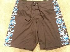 Men's RED CAMEL Swimming Trunks Polyester Brown Size XL