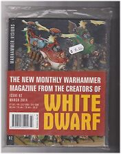 NEW White Dwarf Warhammer - March 2014 - Issue 02 SRP $12
