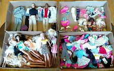 Vintage Large Lot Over 120 Items Barbi  Ken, Kelly and Tommy, Dolls, Accessories
