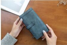 (6 Colors) Women Lady Leather Wallet Purse ID Card Clutch Holder Case Notecase
