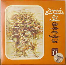 BUXTEHUDE: Four Solo Cantatas-NM1971LP PROMO REMOVABLE ART CARD HELEN DONATH