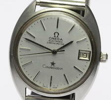 Auth OMEGA ELECTRONIC Constellation Chronometer Date Men's Wrist Watch_320581