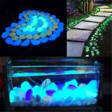 5X Magical Glow In The Dark Pebbles Stone Home Decor Walkway Aquarium Fish Tanks