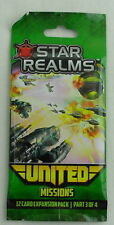Star Realms United Card Game: Missions 12-Card Expansion Pack WWG018-525