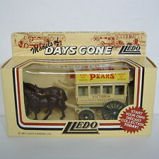 Lledo : Days Gone : 1900's Horse Drawn Omnibus : PEARS - KING OF SOAPS : DG4005b