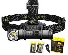 Nitecore HC30 LED 1000 Lumen Headlamp, 2 x 18650 Batteries, Charging Kit