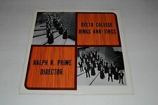 Delta College Rings And Sings - Ralph R. Prime - SEALED - FAST SHIPPING!