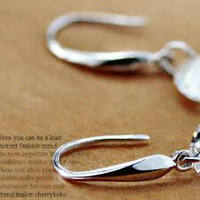 Lots 20X Hook Earwire Silver Filled Jewelry Findings Handmade DIY Earring