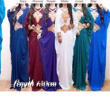 Dubai Abaya Kaftan Farasha Maxi Dress Green Sale Sale Rrp £40.00