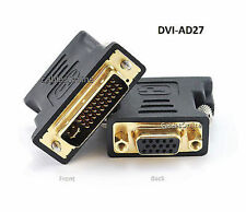 M1-A (P&D) Male to VGA Female Video Projector Adapter, CablesOnline DVI-AD27