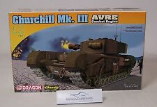 Dragon 1/72: 7327 Churchill Mk. III AVRE Combat Engine