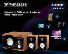High-end 2.1 Channel Bluetooth Speaker for Home Theater System