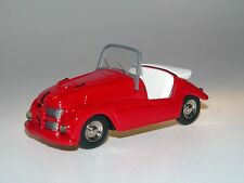Kleinschnittger f125, MICROCAR, Bubble Car, rosso, white metal, bianco metallo, 1/43