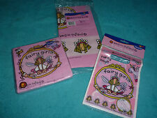 NEW - GIRLS BANG ON THE DOOR FAIRY GIRLS PARTY BAGS, TABLECLOTH & NAPKINS -