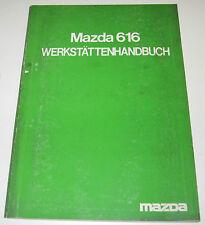 Werkstatthandbuch Mazda 616 Motor Kupplung Karosserie Bremse Baujahr 1970 - 1979