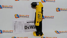 "New DeWalt DCD740 20V Max Li-Ion Cordless 3/8"" Right Angle Drill - Bare Tool"