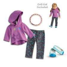 "American Girl MY AG STARRY HOODIE OUTFIT for 18"" Dolls Coat NEW"