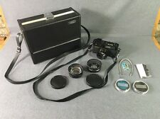 Yashica Electro 35 GT Film Camera Bundle Fully Working With Battery Conversion