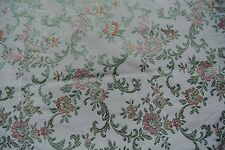 Chanee Ducrocq floral weave brocade fabric remnant -RRP £78 per metre - craft