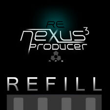 Reason Refills ReNexus 3 Gated Trap Synths Refill modeled after the Nexus 2