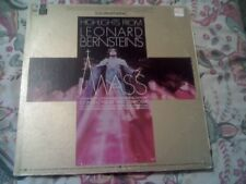 LEONARD BERNSTEIN'S MASS HIGHLIGHTS LP INCLUDING INSERT EXCELLENT