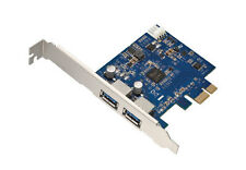 2-Port USB 3.0 PCI-Express PCIe Adapter Controller Card