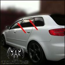 Set 4 Déflecteurs de vent pluie air teintées  Audi A3 8PA Sportback 2004-2012