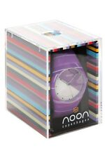Noon Copenhagen Purple Multi Stripe Wrist Watch Retro Hipster New
